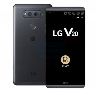LG V20 Smartphone, 4G LTE, Android 7.0(Nougat), 5.7 Inch QHD IPS Display, 4GB RAM, 64GB Storage, Dual Camera, Wifi, Bluetooth- Black