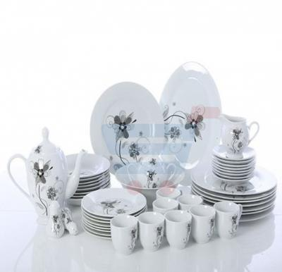 RoyalFord 49 Pieces Round Dinner Set - RF6018