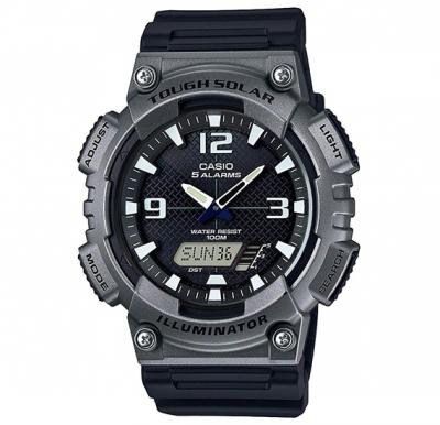 Casio AQ-S810W-1A4VDF Youth Combination Analog-Digital Black Dial Mens Watch