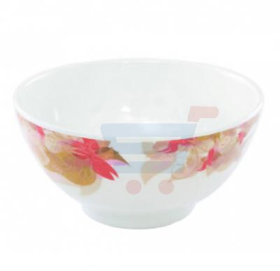 Royalford Melamine Ware Rice Bowl Flower Carnival 6 Inch - RF5104