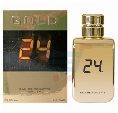 24 Gold 100ml Edt Spray For Men