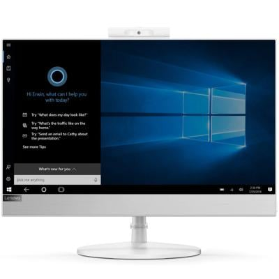 Lenovo Think Center All in One V530-22 AIO 21.5 FHD Touch PC, Core i5 Processor, 8GB DDR4-2666 RAM, 256GB SSD, Wifi, Bluetooth, Integrated Graphics, DVD RW Drive, Windows 10 Professional