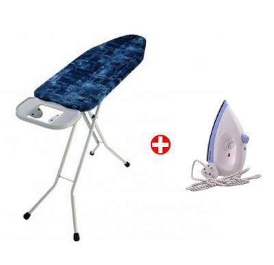 Bundle Offer! Sonashi SIT-001 Ironing Table,113cm X 34cm & Get Sonashi Dry Iron with Spray SDI-6008S FREE