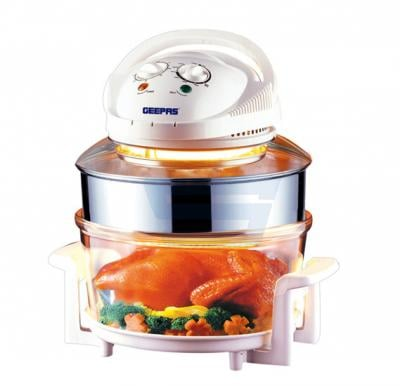 Geepas Turbo Halogen Oven GHO4403, Easy operation With Timer And Temperature Control
