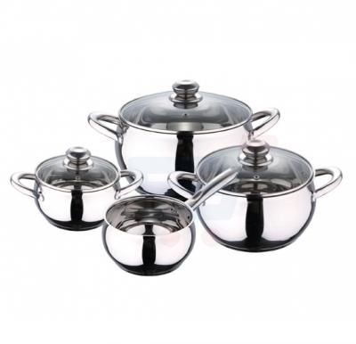 RoyalFord 7 Pcs Stainless Steel Cookware Set - RF8497