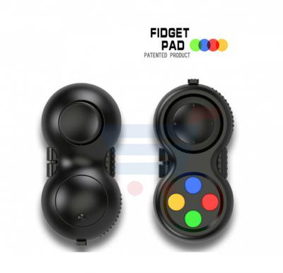 Game Controllers Magic Fidget Pad ZN6035, Cube Gamepad Children Desk Toy Adults Stress Relief Squeeze Decompression Hand Fun Toy