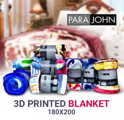 Para John 3D Printed Blanket, 180x200-PJBL7009