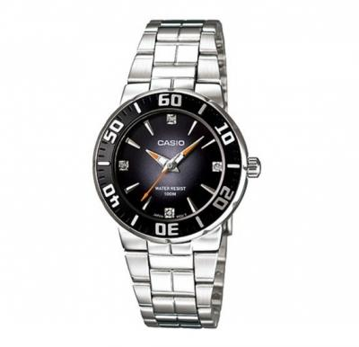 Casio LTD-2000D-1AVDF Quartz Diver Look Series Women Watch