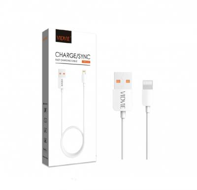 Vidvie Iphone Usb Cable Cb412-2 200cm , Kabel Data , Fast Charging