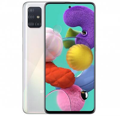 Samsung Galaxy A51 Dual SIM 6GB RAM 128GB 4G LTE-White