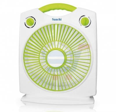 Saachi 3-Speed 10 inch Box Fan with 60 Mins Timer - FN‐1771B