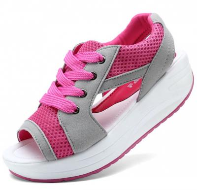 Generic Women Breathable Exercise Shoes,Pink,Size 37
