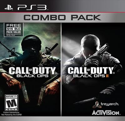 Activision Call of Duty Black Ops 1 & 2 Combo For PS3