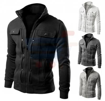 Mens Casual Design Rapid Jacket Black (Medium) - 1561