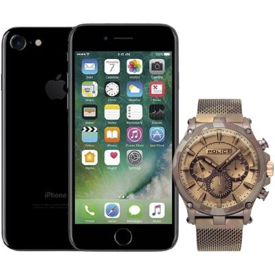 Buy Police P15920JSMBN Tamann Analog Men Watch and Get Apple iPhone 7 128GB Storage, Activated Free