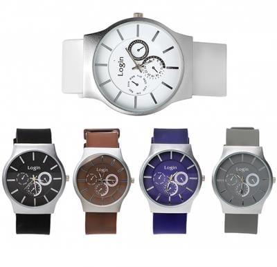 5 in 1 Login Fashion Wrist watch Set P21-2, Royalhand
