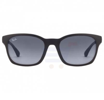 Ray-Ban Wayfarer Black Frame & Grey Mirrored Sunglasses For Unisex - 0RB4197l-601S4L