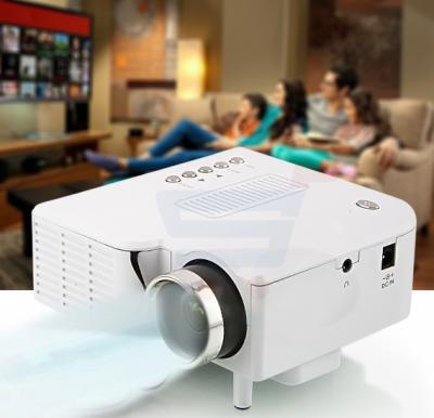 BSNL A8 Mini Projector, HDMI, AV, USB, SD Card Slot white
