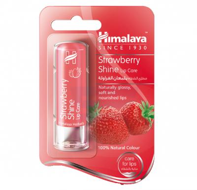 Himalaya Strawberry Shine Lip Balm 4.5 GM - NHM0007