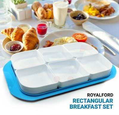 RoyalFord Rectangular Breakfast Set - RF7168