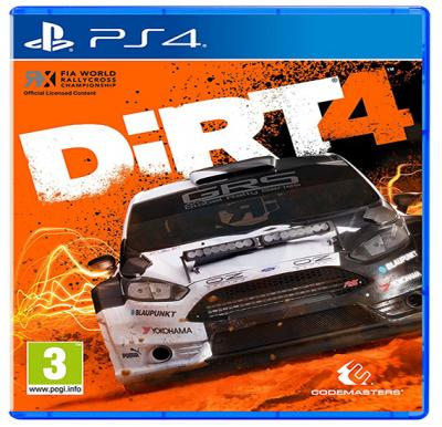Codemaster Dirt 4 For PS4