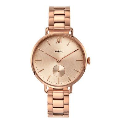 Fossil Analog Gold Dial Ladies Watch, ES4571