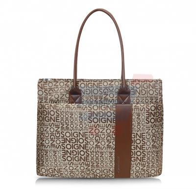 Promate Ladies Tote Bag For Laptops Nicole Brown