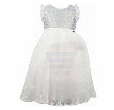 Amigo 7  Children Dress  Silver White - 6-9M - 1309
