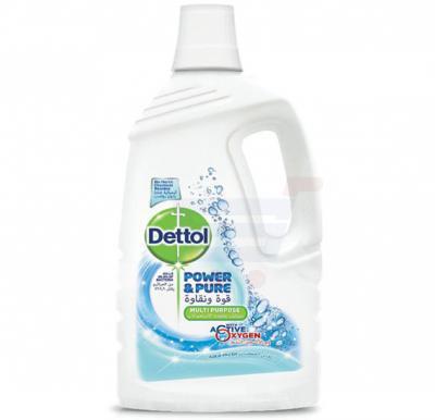 Dettol Power and Pure  Aqua Fresh Multi-Purpose Cleaner 3L