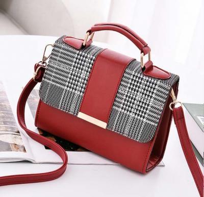 Generic Bag For Women Fashion Brown Crossbody Bag For Lady Girls Korean Style,RED,CBK00/RD