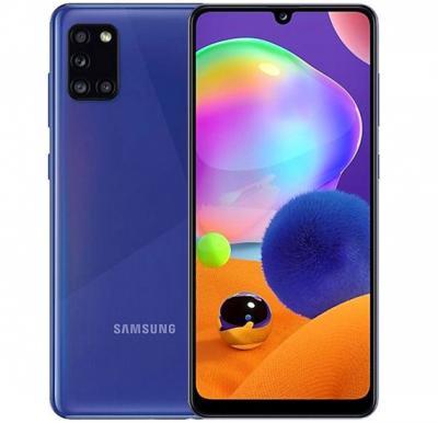 Samsung Galaxy A31 Dual SIM 4GB RAM 128GB 4G LTE- Prism Crush Blue