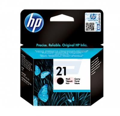 HP Cartridge 21 Black Ink, C9351AE