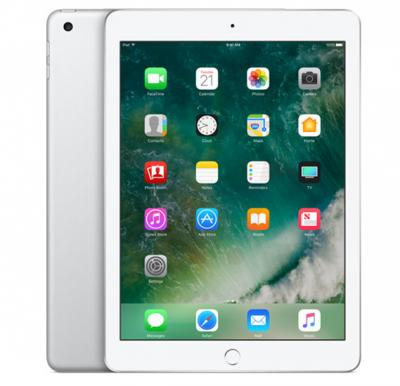 Apple Ipad 5 9.7 Inch 4G Tablet, iOS 11, 2GB RAM, 128GB Storage, Dual Camera - Silver