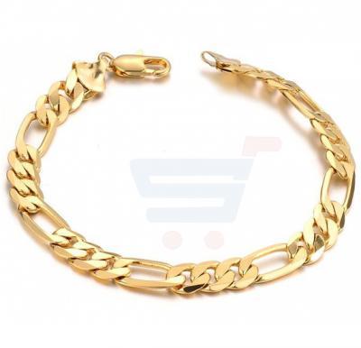 18K Gold Plated Individual Cool Chain Men Bracelet - KS157