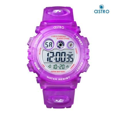 Astro Kids Digital Grey Dial Watch A9935-PPVS, Size 38