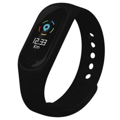 Bluedigit IBRACE 08 Smart Band Black
