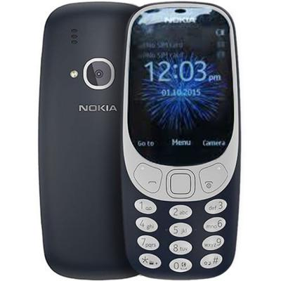Nokia 3310 Blue Mobile, 2.4 Inch TFT Display, Dual Sim, Camera, Radio