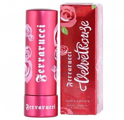 Ferrarucci Velvet Rouge Lipstick 3.8g, Tango Orange