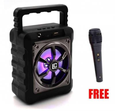 Kuku Ln31 / Ln32 Small Karaoke System Wireless Stereo Super Bass Portable Bluetooth Speaker With Micro SD/TF And USB Support Free Mic