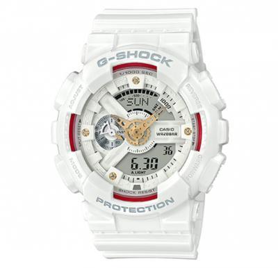 Casio G-Shock Watch-White,BA-110DDR-7ADR