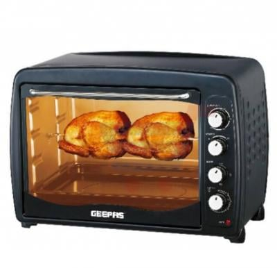 Geepas Electric Oven Toaster With Rotisserie 55 Liters GO4401N