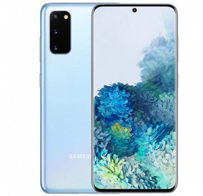 Samsung Galaxy S20 Dual SIM 8GB RAM 128GB 4G LTE, Cloud Blue