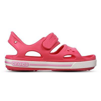 Crocs Kids Clogs Sandals Crocs Kids Clogs Sandals Crocband II Sandal PS Pink/Carnation 14854-66I
