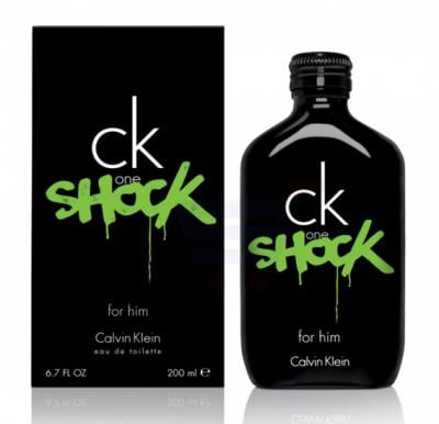 Calvin Klein One Shock EDT 200ml For Men
