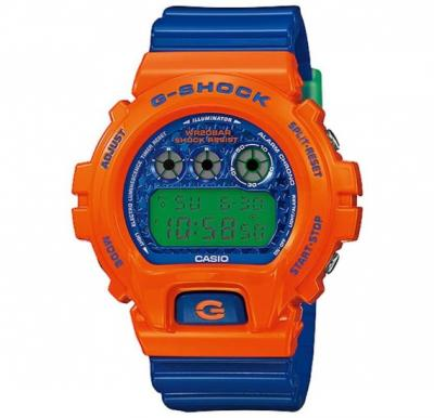 Casio G-Shock Resin Band Watch For Unisex - DW-6900SC-4D