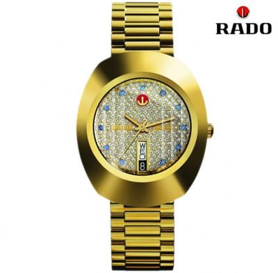 Rado R12413323 The Original Automatic Unisex Watch, Gold