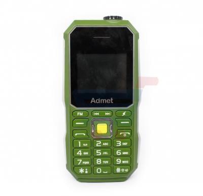 Admet K6000 Mobile Phone,Green with 5000mAh Power Bank