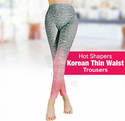Hot Shapers Thin Waist Trousers Fit Trunks Sunscreen, Pink
