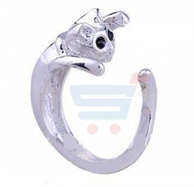 Stylish Cat Ring Size Large
