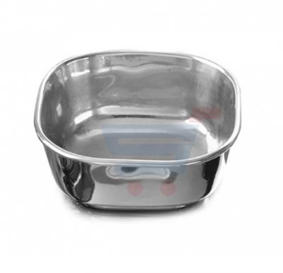 Royalford 6 Inch Stainless Steel Square 4D Bowl - RF7448